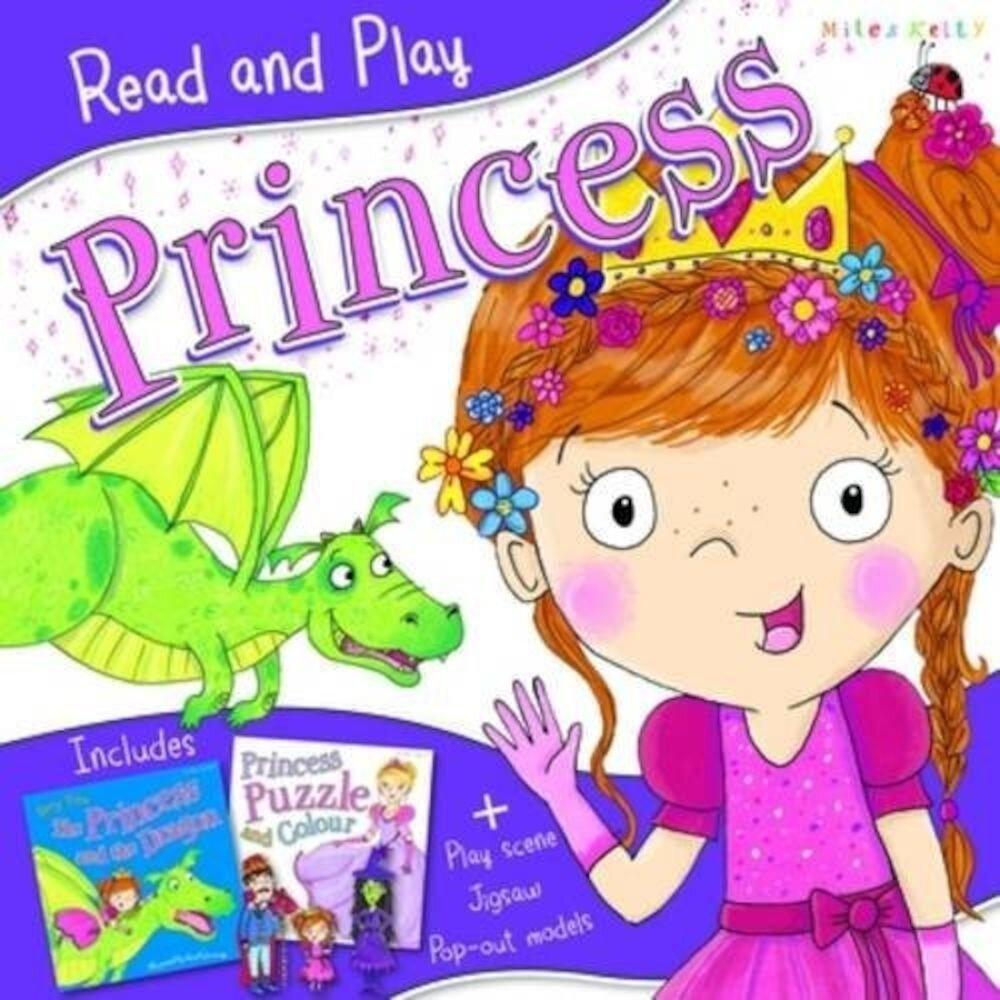 Coperta Carte Read and Play Princess
