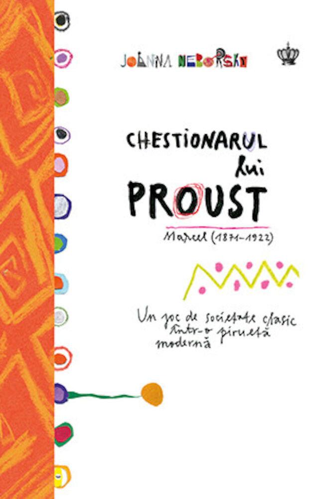 Coperta Carte Chestionarul lui Proust