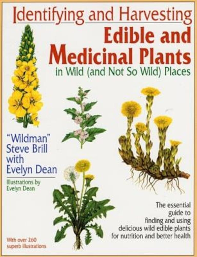Identifying and Harvesting Edible and Medicinal Plants, Paperback