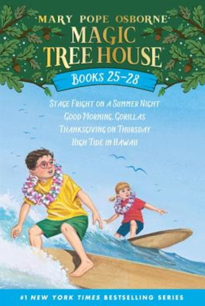 Magic Tree House Volumes 25-28 Boxed Set, Paperback