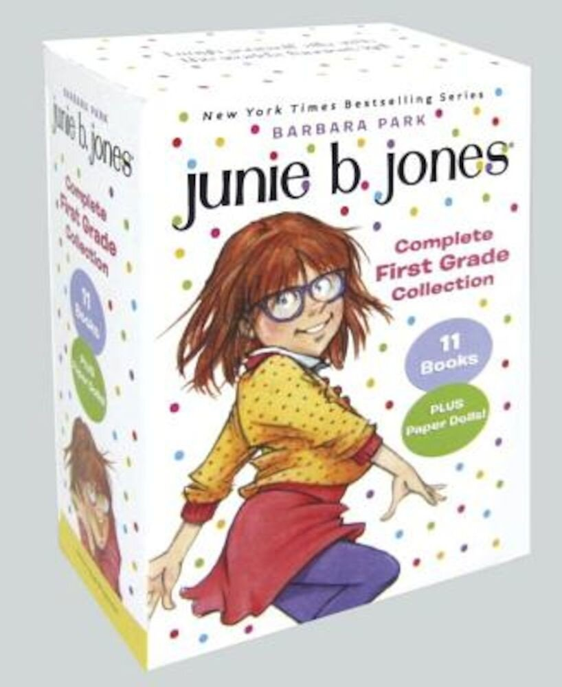 Junie B. Jones Complete First Grade Collection: Books 18-28 with Paper Dolls in Boxed Set, Paperback