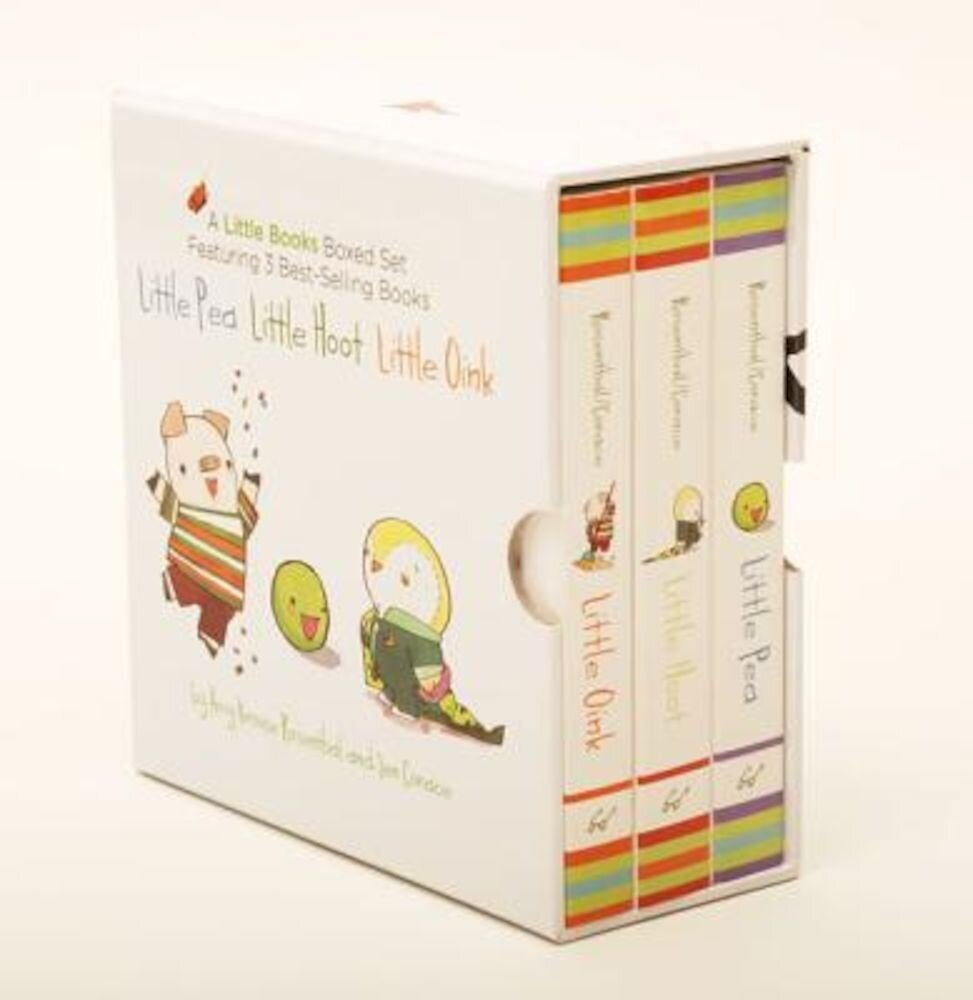 A Little Books Boxed Set Featuring Little Pea, Little Hoot, Little Oink, Hardcover