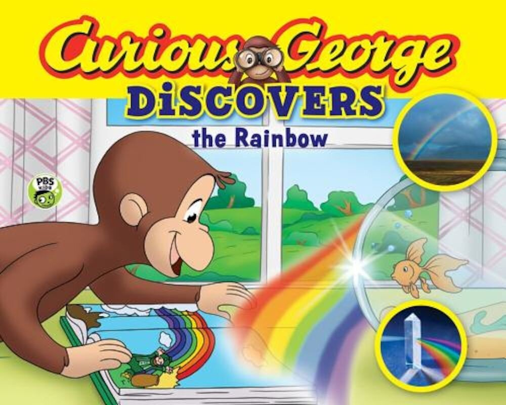Curious George Discovers the Rainbow (Science Storybook), Paperback