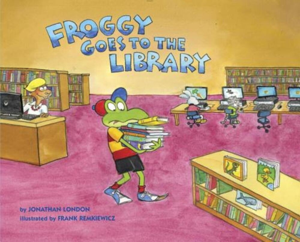 Froggy Goes to the Library, Hardcover