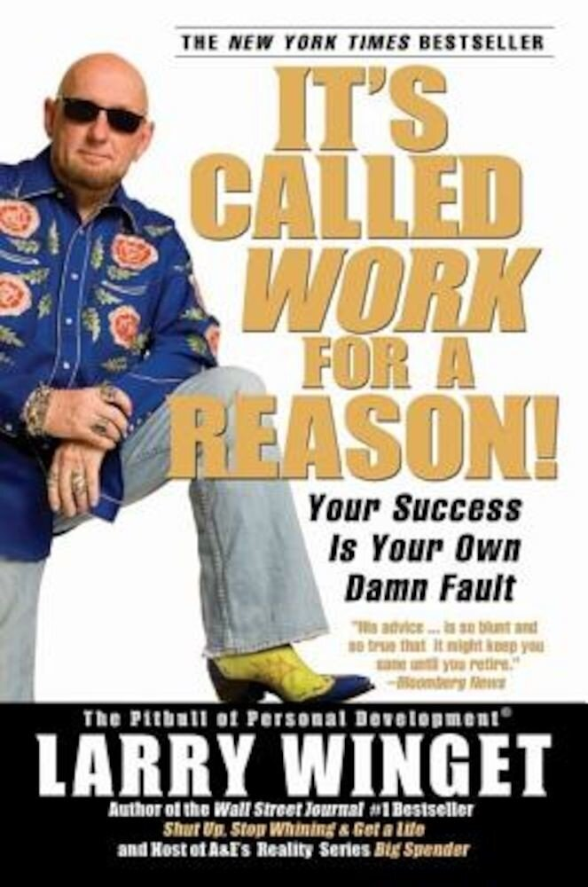 It's Called Work for a Reason!: Your Success Is Your Own Damn Fault, Paperback