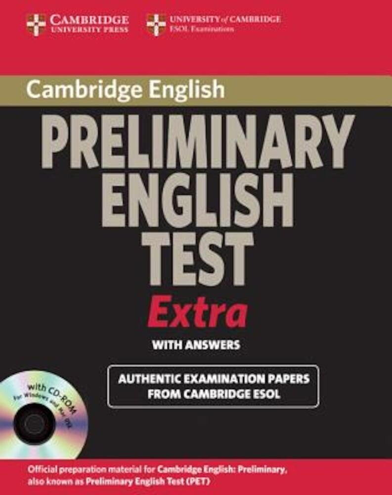 Cambridge Exams Extra: PET with Answers [With CDROM], Paperback