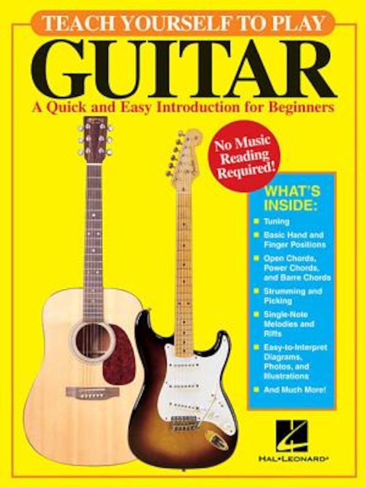 Teach Yourself to Play Guitar, Paperback