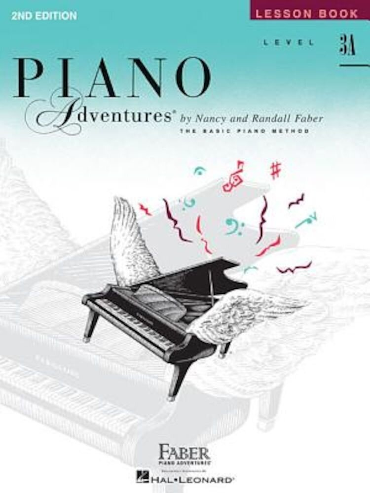 Piano Adventures, Level 3A, Lesson Book, Paperback