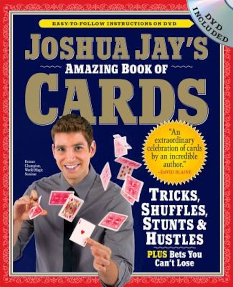 Joshua Jay's Amazing Book of Cards [With DVD], Paperback