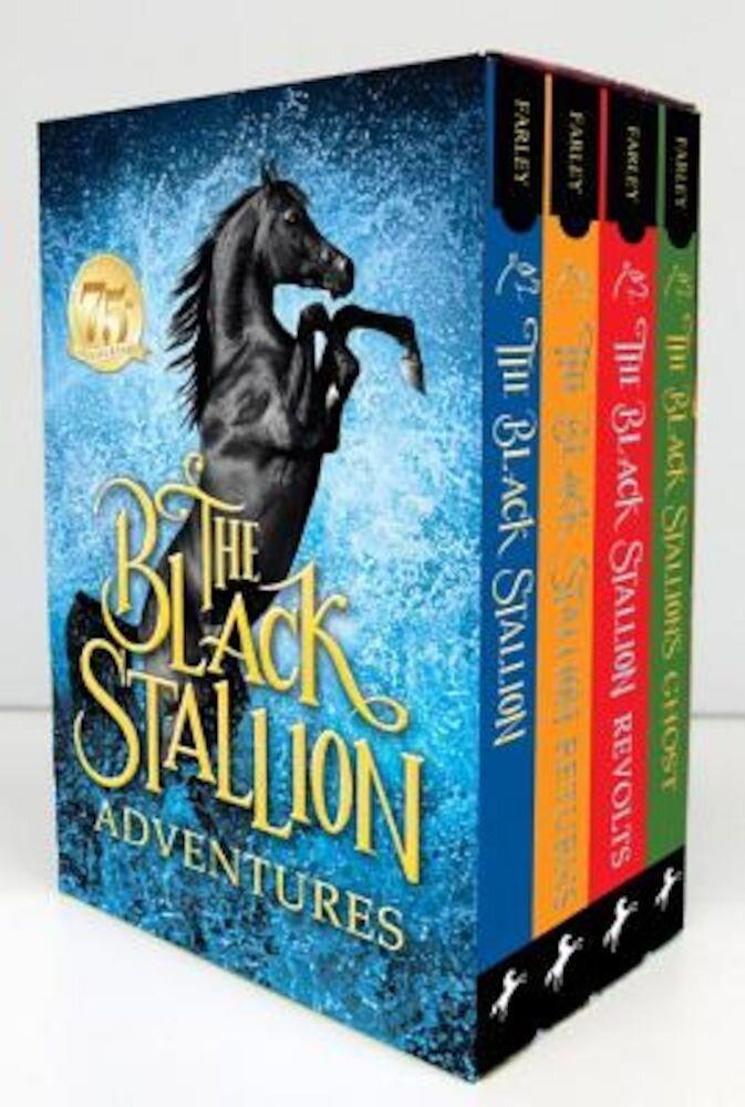 The Black Stallion Adventures! 4 Volume Boxed Set, Paperback