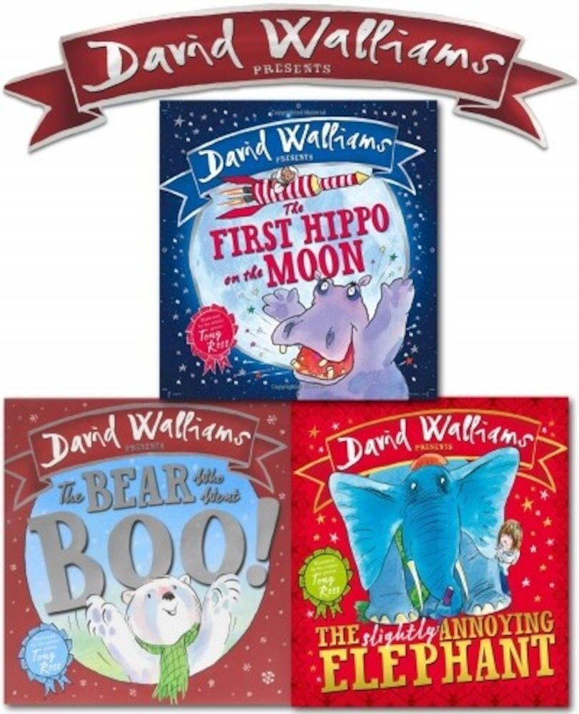 David Walliams Picture Book Collection. 3 Books Set