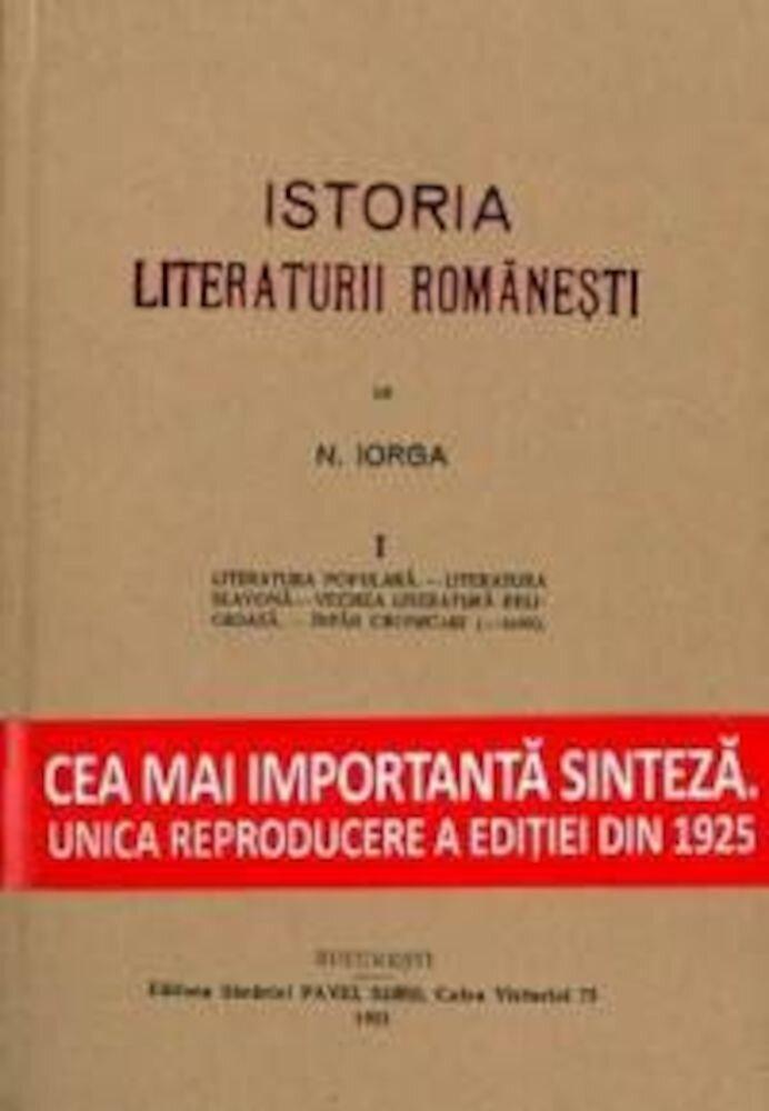 Istoria literaturii romanesti (3 volume)