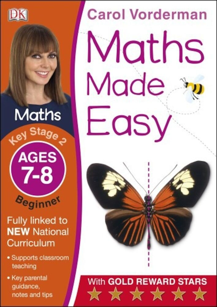 Coperta Carte Maths Made Easy, Ages 7-8 Key Stage 2 Beginner