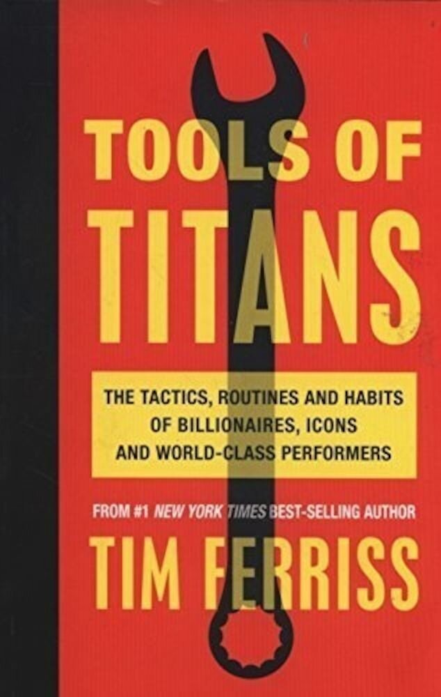 Coperta Carte Tools of Titans
