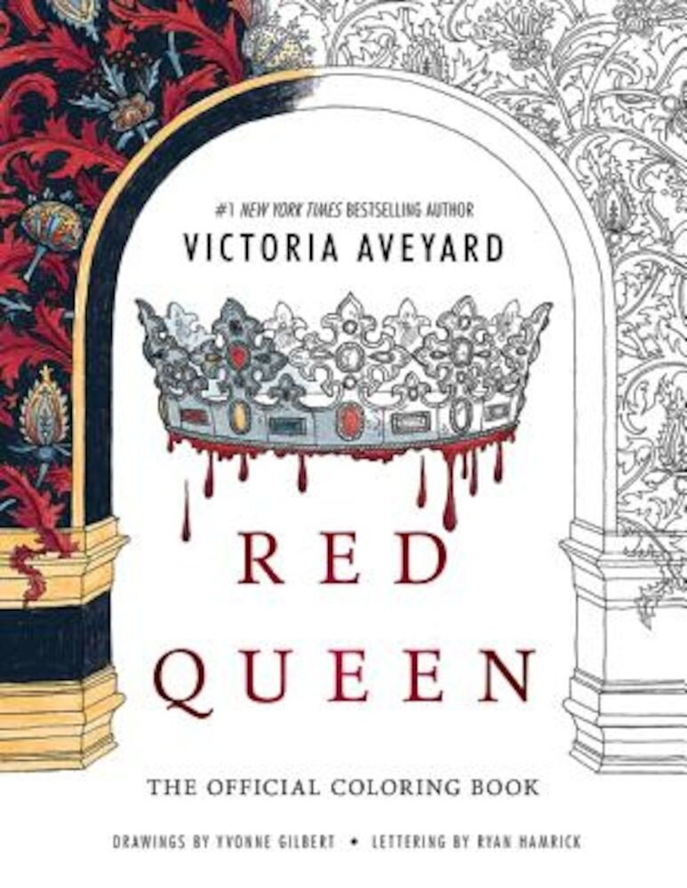 Red Queen: The Official Coloring Book, Paperback