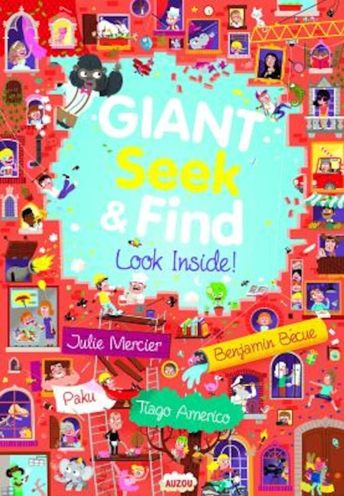 Giant Seek and Find: Look Inside!, Hardcover