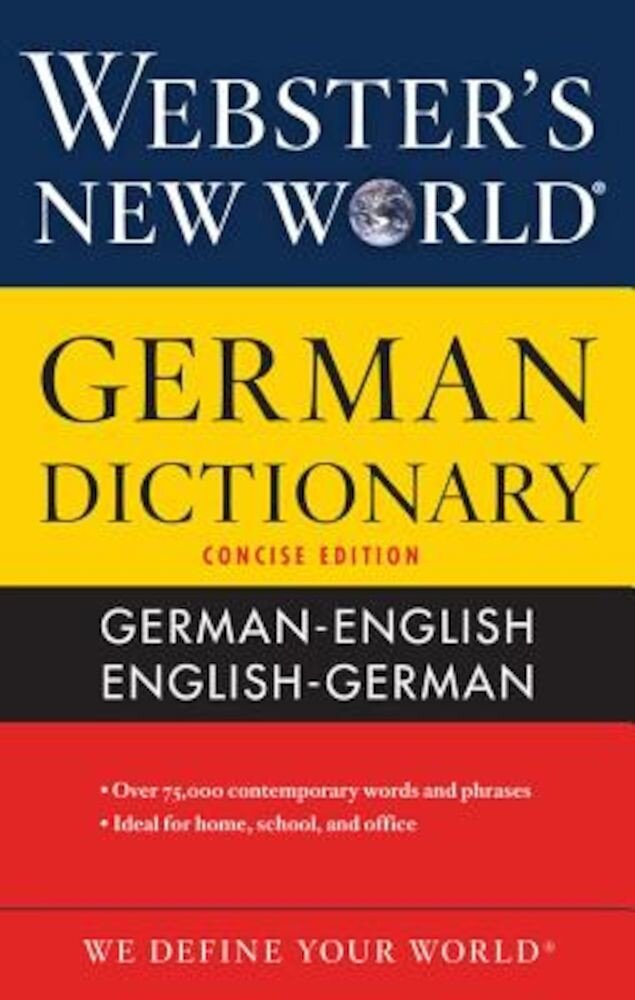 Webster's New World German Dictionary, Paperback