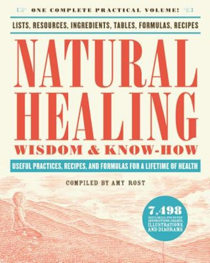 Natural Healing Wisdom & Know How: Useful Practices, Recipes, and Formulas for a Lifetime of Health, Paperback