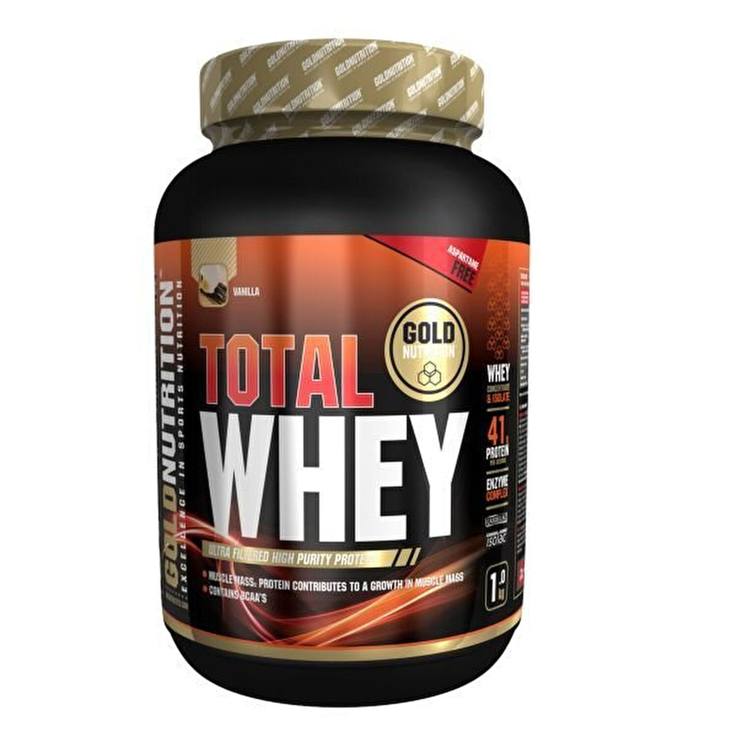 GoldNutrition - Pudra proteica, GoldNutrition, TOTAL WHEY PROTEIN ...