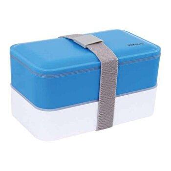Sufertas 2 in 1 KingHoff, 1,2 litri, KH-1131, Albastru imagine