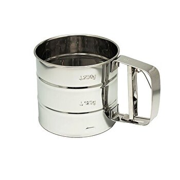Sita pentru faina KingHoff, 350 g, KH-3101, Argintiu