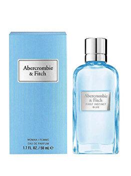 Apa de parfum Abercrombie & Fitch First Instinct Blue, 50 ml, pentru femei poza