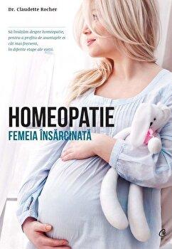 Homeopatie. Femeia insarcinata/Claudette Rocher imagine elefant 2021