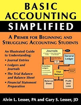 Basic Accounting Simplified, Paperback/Gary S. Lesser poza cate