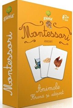 Montessori. Asocieri. Animale. Hrana si adapost-*** imagine