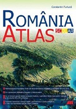 Atals geografic scolar - Romania/Constantin Furtuna poza cate