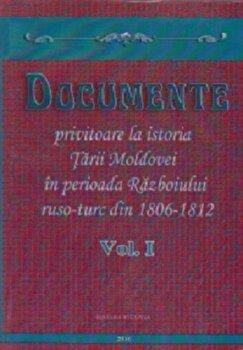 Documente privitoare la istoria Tarii Moldovei in perioada Razboiului ruso-turc 1806-1812, Vol. I/Demir Dragnev imagine