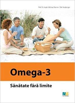 Coperta Carte Omega-3. Sanatate fara limite