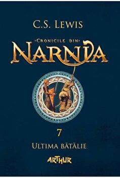 Coperta Carte Cronicile din Narnia 7' ultima batalie