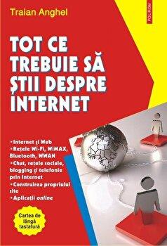 Tot ce trebuie sa stii despre Internet/Traian Anghel