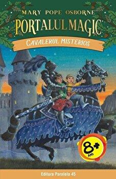 Imagine Cavalerul Misterios - Portalul Magic Nr - 2 - Ed - 2 - mary Pope Osborne