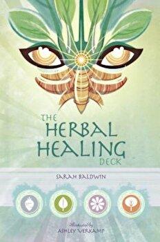 The Herbal Healing Deck, Hardcover/Sarah Baldwin image0