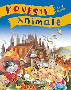 Coperta Carte Povesti cu si despre animale