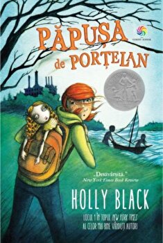 Papusa de portelan/Holly Black