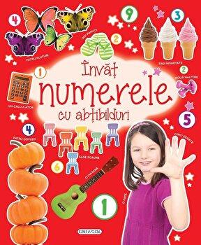 Invat numerele cu abtibilduri/*** imagine elefant.ro