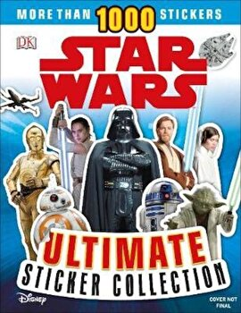 Star Wars Ultimate Sticker Collection New Edition, Paperback/*** poza cate