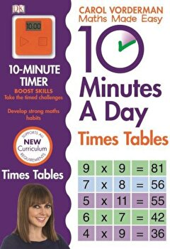 10 Minutes A Day Times Table/Carol Vorderman poza cate