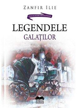 Coperta Carte Legendele Galatilor
