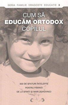 Cum sa educam ortodox copilul. 300 de sfaturi intelepte pentru parinti de la sfinti si mari duhovnici/*** imagine