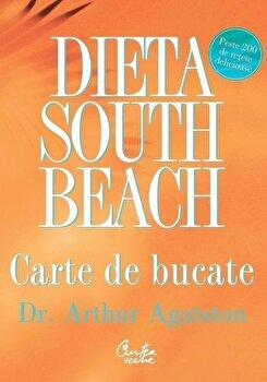 Dieta South Beach. Carte de bucate/Arthur Agatston imagine elefant.ro 2021-2022