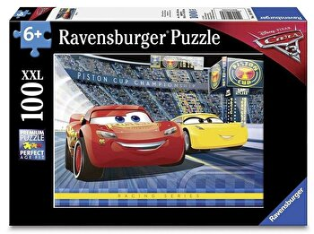 Puzzle Cars, 100 piese