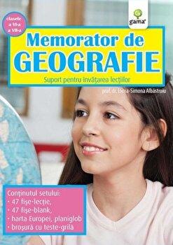 Memorator de Geografie, clasele VI-VII. Suport pentru invatarea lectiilor/Elena-Simona Albastroiu poza cate