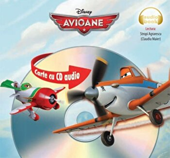 Disney: Avioane. Carte cu CD audio/***