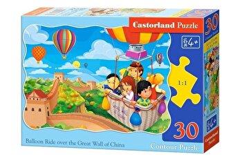 Puzzle Balon deasupra Marelui Zid Chinezesc, 30 piese