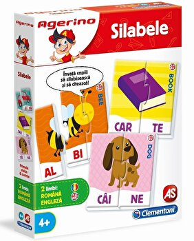 Agerino - Joc educativ Silabele