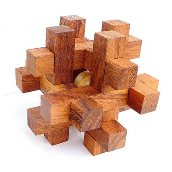 Puzzle din lemn Interlocking - Arno